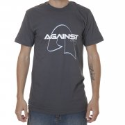 Against Clothing Tshirt. Color: grey.