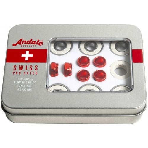 Andale Bearings: Swiss Tin Box Single