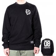 BDSkateCO Sweatshirt: Crew Sweater 08 BK