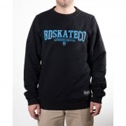 BDSkateCO Sweatshirt: Crew Sweater Logo BK