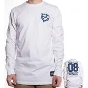 BDSkateCO T-shirt met lange mouwen: BD 08 WH