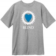 Blind T-Shirt: Heart Price Point s/s Athletic Heather