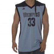 Camiseta adidas: NBA Menphis Grizzlies Gasol#33 Replica BL
