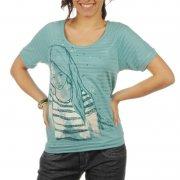 Camiseta Chica Roxy: Heart Core GN