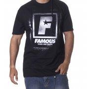 Camiseta Famous Stars and Straps: Spray Box BK