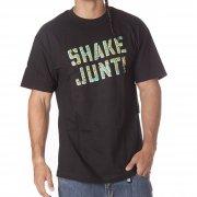 Camiseta Shake Junt: SJ Spray Logo Craze BK