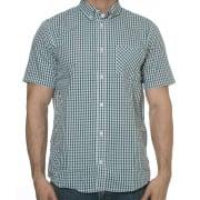Carhartt Overhemd: Kenneth Check GN/WH