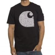 Carhartt T-Shirt: SS Duck Swarm BK