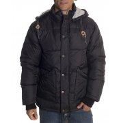 Circa Jacket: Etne Puff Jacket BK