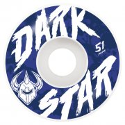 Darkstar Wielen: Chalk White (51 mm)