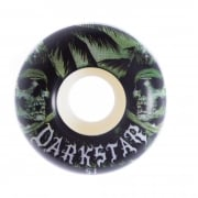Darkstar Wielen: Helm Green/White (51 mm)