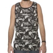 DC Shoes Tank-Top: Huntridge KVJ BK