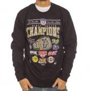 DGK Sweatshirt: Champions Crew Fleece BK