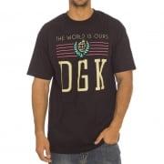 DGK T-Shirt: Crest 2 BK