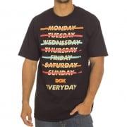 DGK T-Shirt: Every Day BK