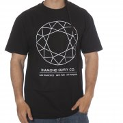 Diamond T-Shirt: Off Top Tee Black BK