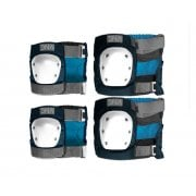 DNA Protective Gear: Navy Knee & Elbow Pack NV