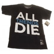 DVS T-Shirt: All Trends Die BK