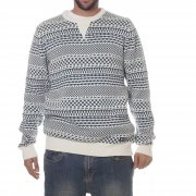 Element Sweater: Berry Ivory WH/GN
