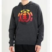 Element Sweatshirt: Charcoal Heather HO Logo Fill GR
