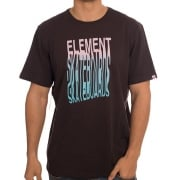 Element T-Shirt: Scan SS Off BK