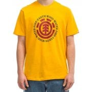 Element T-Shirt: Seal SS Gold YL