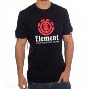 Element T-Shirt: Vertical SS Flint BK