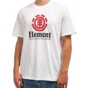 Element T-Shirt: Vertical SS Optic WH