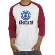 Element  T-Shirts met lange mouwen (3/4): Vertical Raglan WH/RD