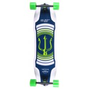 Elixir Longboard: Neptune Green Top Mount