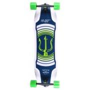 Elixir Longboard: Neptune Green Top Mount
