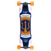Elixir Longboard: Neptune Orange Top Mount