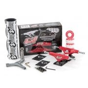 Enuff Kit Skate: Decade Pro Truck Set Red/Black