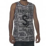 Famous Stars and Straps Tank-Top: Bank Roll GR