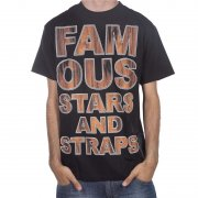 Famous Stars and Straps Famous Stars&Straps T-Shirt: Rosewood Type BK, S