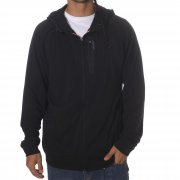Fox Racing Jessen: Flux Zip Front Fleece BK