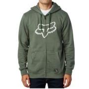 Fox Racing Sweatshirt: District 3 Zip Fleece GN
