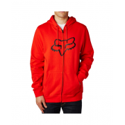 Fox Racing Sweatshirt: Legacy Foxhead Zip Fleece RD