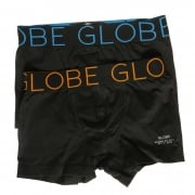 Globe Boxer: Lindros 2 Pack Jersey Brief BK