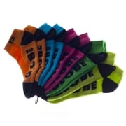 Globe Socks: Fluro Pack 5 MC