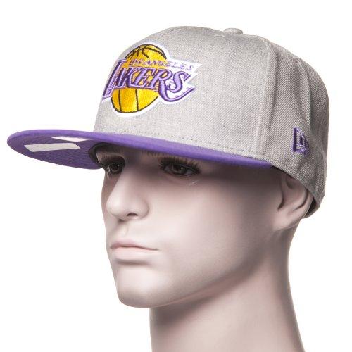 Gorra New Era: 59Fifty Heather Pop L.A. Lakers GR/PP
