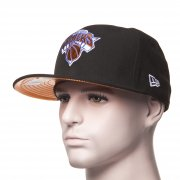 Gorra New Era: 59Fifty Teametalic New York Kniks BK/OR
