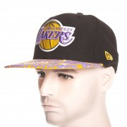 Gorra New Era: Fleur De Fitted Los Angeles Lakers BK/YL