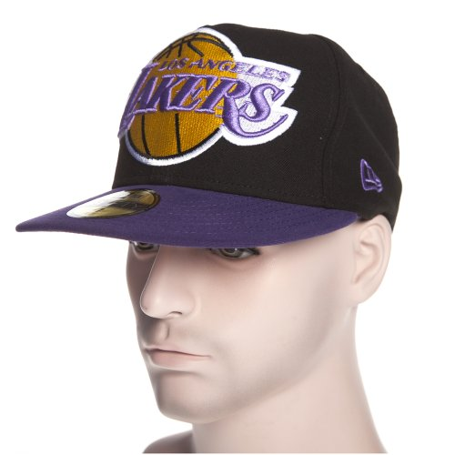 Gorra New Era: Mighty 2 Tone Los Angeles Lakers BK/PP