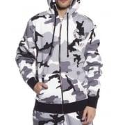 Grimey Sweatshirt: Core Zipper Hoodie CM
