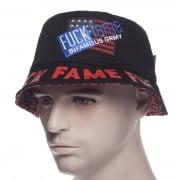 Hoed Grimey: Fuck Fame Bucket Hat BK