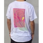Imagine Skateboards T-Shirt: Skull Pink WH