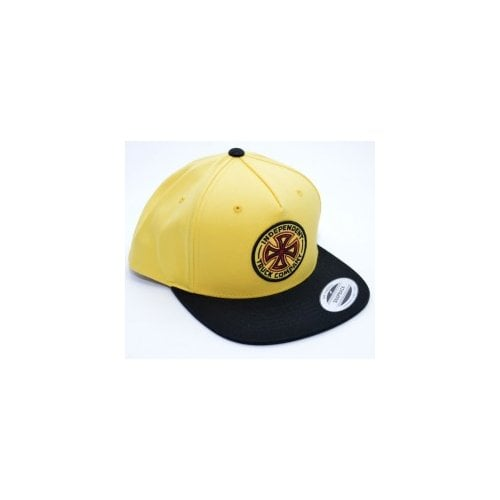 Independent Cap: OGTC Snapback Banana Cream YL/BK