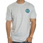 Independent T-Shirt: Tee 2 Colour TC Heater GR