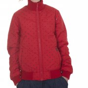 Jacket Girl Carhartt. Color: red.